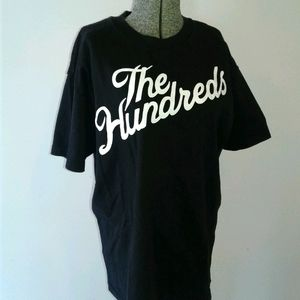 The Hundreds adam bomb logo spellout tee shirt L